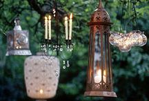 Garden lighting / by Lavende and Lemonade