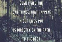 Words. / Speaking words of wisdom. / by Lis Hobbs