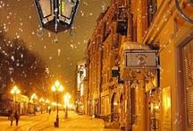 Walking in a Winter Wonderland / Let it snow, let it snow, let it snow :) / by Deborah Lynn Kunesh