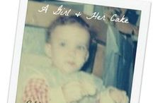 A Girl and Her Cake / by Deborah Lynn Kunesh