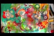 Art Journal Inspiration / art journal, art techniques, art blogs, art tutorials / by Lorrie Matthews