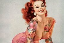Ahoy, sailor. / All things I see and like that relate to ultra-sexy pin-ups, Sailor Jerry, rockabilly, and similar such excitement. / by Lucy Pops