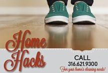 HOME HACKS / Tips and tricks for everyday life from cleaning to organizing. Check out Kandi's facebook page facebook.com/kandi.turner.50 for more clever hacks!  / by Home Maid Inc