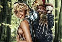 Horror Stuff / All things scary!!!! / by Tara Kohl