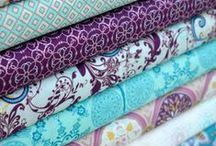 ~Fabric & Thread~ / ~Oodles upon oodles of stuff to create with~ / by Elizabeth Loper