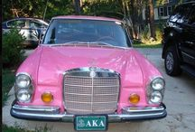 Pink Mobiles / All pink transports.... / by Maya L. Smith