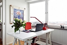 Staged Home Offices / Working through our home offices is such a pleasure and joy.  Keeping it Staged is so important too! Also having it De-Cluttered and Organized makes for a better work enviroment research shows <3 as well.  #Staging #Staging #Staging / by Barb Schwarz, Stagedhomes.com, IAHSP