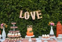 Carnival Wedding Dessert Table / by Top Shelf Events