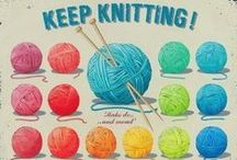 Nuts about Knitting / I love knitting, reading about it looking at patterns talking about it and much to my hubbies dismay checking out  boot sales etc. for cheap wool / by Claire Earley
