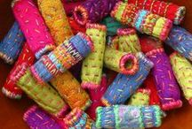 Textile Jewelry / by Patricia Brown