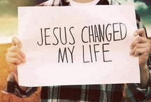 Jesus / A board that's all about our wonderful Savior, Jesus Christ. / by The Wooden Tree