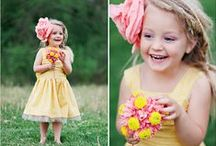 The Flower Girl / Those precious little ladies would be complete for your wedding day with some of these amazing ideas! / by Flowers by Anna