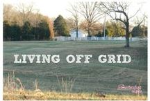 Off the Grid Living / This includes self sufficient and homesteader living.  Included in this topic is basic gardening information and many other subjects associated to living off the power grid. / by Ed Todd