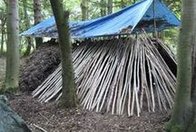 Shelter - Basics 2 Bunkers / Wilderness living and all others Including a possible future home (shelters) for you!  Tents, HAMMOCKS, Tarps and other mobile shelters topics are also covered and pinned here. / by Ed Todd