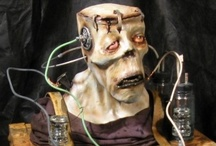 Halloween: Mad Scientist Lab / Another great Halloween party theme I will eventually use. I like a steampunk feel lab to add to the atmosphere.  / by Beth Woods