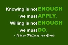 Notable Quotes / We do our best to make sure that each quote is attributed to the right person. If you see an error, please let us know.  / by Wilmington College Cincinnati
