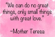quote favorites / by Theresa van den Heuvel