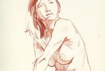 Favourite Sketches and gestures / by Alex Petrov