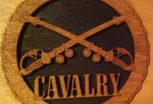 CAVALRY (HORSE) / NO ARMORED OR AIR CAVALRY / by J.M. JOHNS