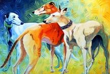 Greyhound Art / by Melanie I.