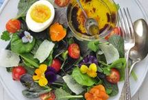Salads / Saladas / by meire luce