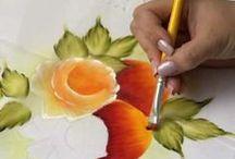 videos de pintura en tela / by maria ines espino guzman