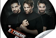 WWE on GetGlue  / See the wide variety of stickers WWE has to offer on GetGlue for checking in for WWE Raw, SmackDown, Main Event, Saturday Morning Slam and PPV events!  / by WWE