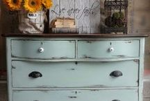 painted furniture / by Busy Bee Cottage