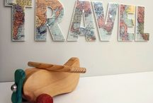 See The World / Inspiration for a travel-themed nursery for my baby boy / by Lisa Moore