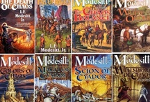 Science Fiction Books Read & Movies Watched / Science Fiction books I have read including these favorite authors. Lois McMaster Bujold, David Weber, L.E. Modesitt, Heinlein, Elizabeth Moon, Raymond Feist, Andre Norton, C.J. Cherryh, Alan Dean Faster  / by Fred Saul
