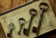 ~Keys,Knobs,Latches,etc~ / by Sharon Heirholzer