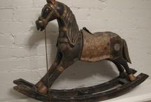 ~Horses/rocking~~ / by Sharon Heirholzer