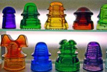 "~""Olde Insulators""~~~ / by Sharon Heirholzer"