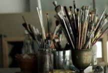 paint brushes / by Dianne