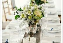 Table Scapes & Creative Accessory Ideas / Table scapes plus creative ways to accessorize your table! / by Kisha Goldvarg