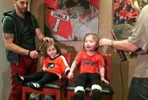 Flyers Families / Our cover shoot with the Flyers wives and kids / by MetroKids Magazine