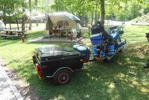 Camping with your Harley! Sights to see,roads to ride!! / Travels on our 1998 Harley Davidson Road King, long camping trips to extended weekends. / by Bev Brinkman