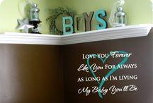 Boy's Bedroom Ideas. / Idea's for my boys bedroom / by Steph Scollie