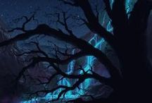 black& blue / by Tish Settles