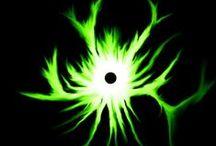 black & green / by Tish Settles