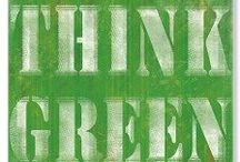 green & white / by Tish Settles