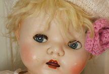 Dolls - Vintage / Beautiful vintage dolls / by Mischelle Burton