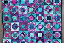 Foundation quilting / Foundation quilting and paper piecing  / by Marcy Morse