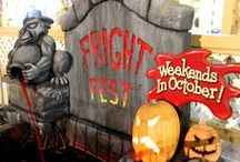 Fright Fest 2013 / Washington's LARGEST Halloween event with 25+rides in the dark, TWO haunted houses, entertainment and more! / by Wild Waves Theme Park