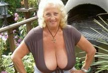 Busty Grannies / Big breasted grannies / by Granny Dating