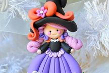 Polymer Clay - Xmas, Halloween, St Valentine's & Thanksgiving / by London Polymer Clay Group