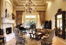 Living Rooms (Traditional Elegance) / by T Roberson