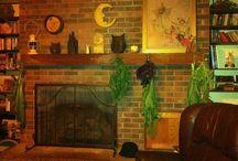 Fireplaces / by Gretchen Britton