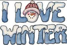 Hiver- Neige- Noël ❅Winter /  Noël et douceur de l'hiver... / by mari@net