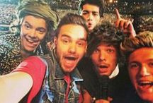 One Direction / One Direction~ #1 in 37 Countries. Over 26 Million Records Sold. BIGGEST Boy Band on the Planet! / by Courtney